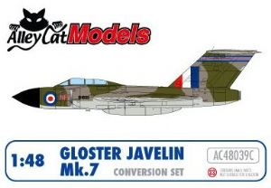 Gloster Javelin Mk.7 Conversion and Decal Set